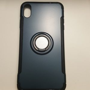 """Case for iphone xs max 6.5"""" black-darkblue new"""